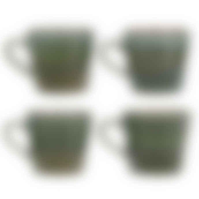 HKliving Grass 70S Style Cappuccino Mug