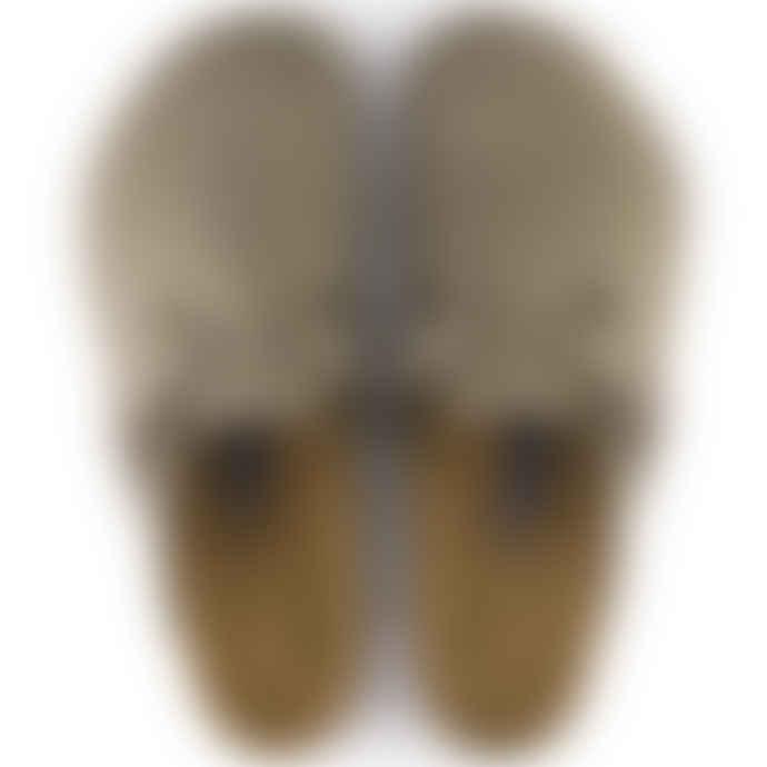 Birkenstock Boston Soft Footbed Regular Fit Sandal Taupe