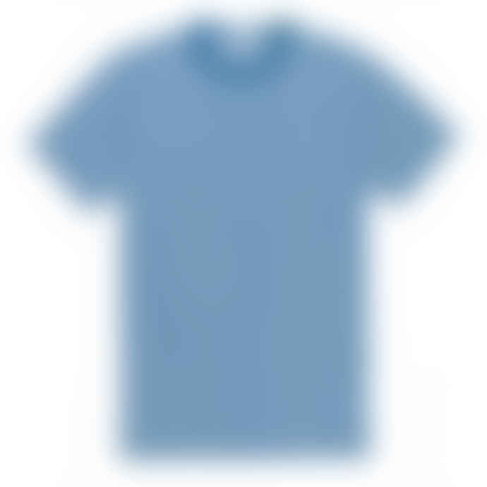 Sunspel Classic Crew English Stripe T Shirt Ink White M