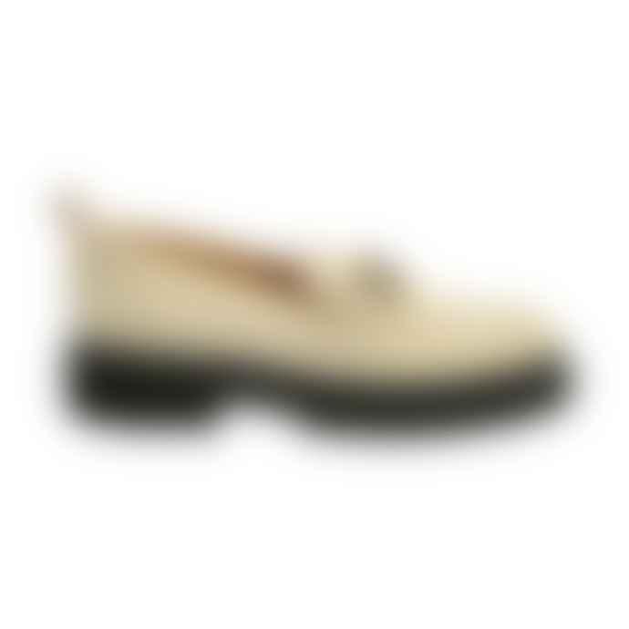 Kunoka Emmy White Loafer