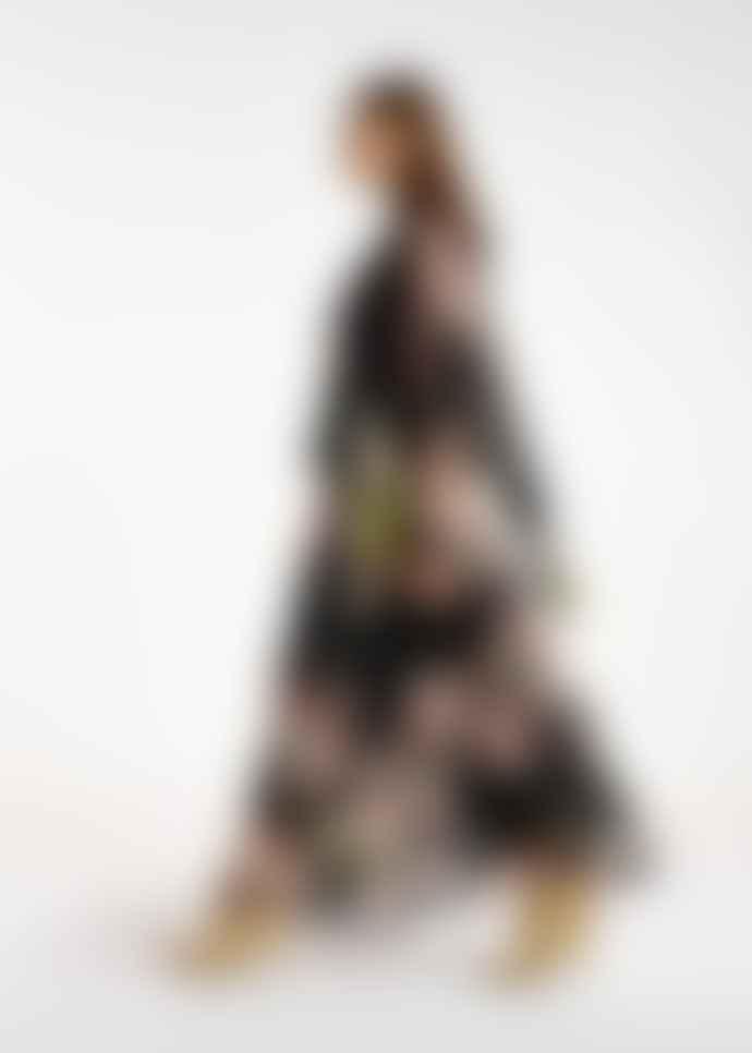 Essentiel Antwerp Atte Black Maxi Dress