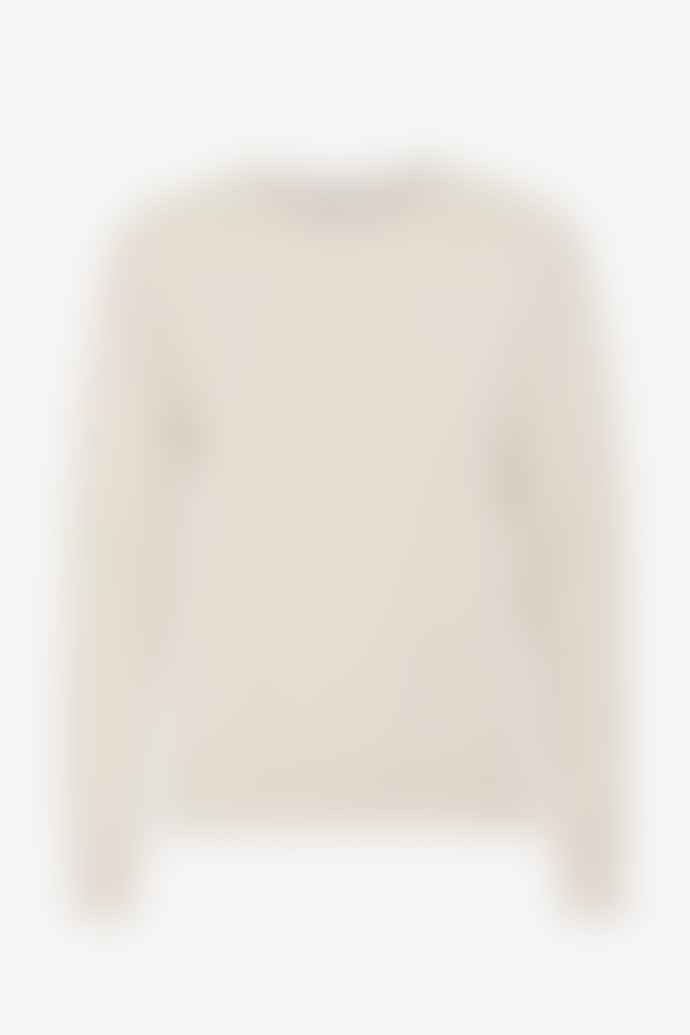 Colorful Standard Ivory White Sweatshirt
