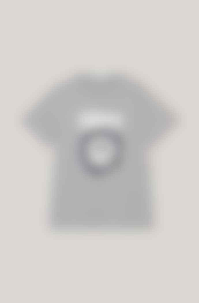 Ganni Classic Cotton T Shirt Love Smiley