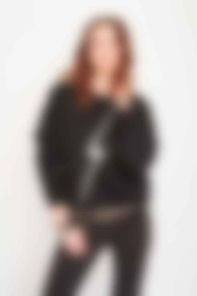 MKT Studio Syliane Black Sweatshirt