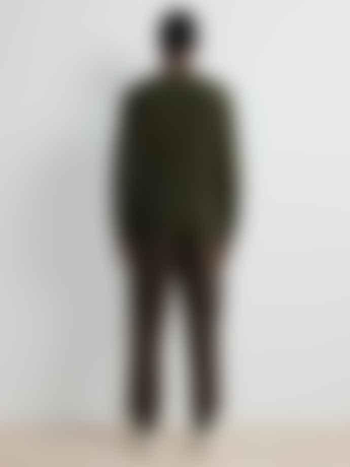 NN07 Edward Knit In Dark Army