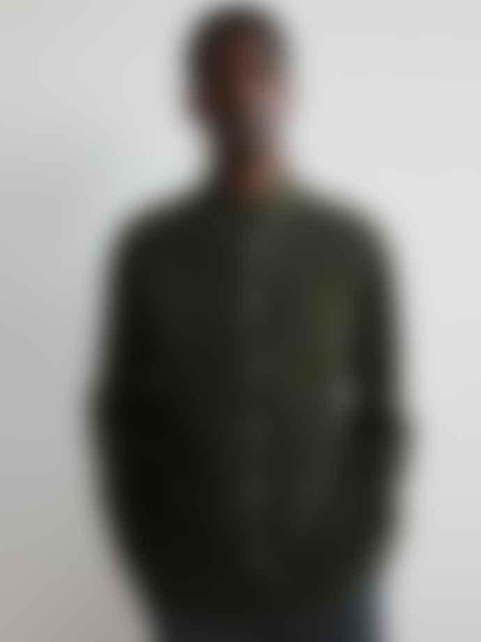 NN07 Levon Shirt In Dark Army