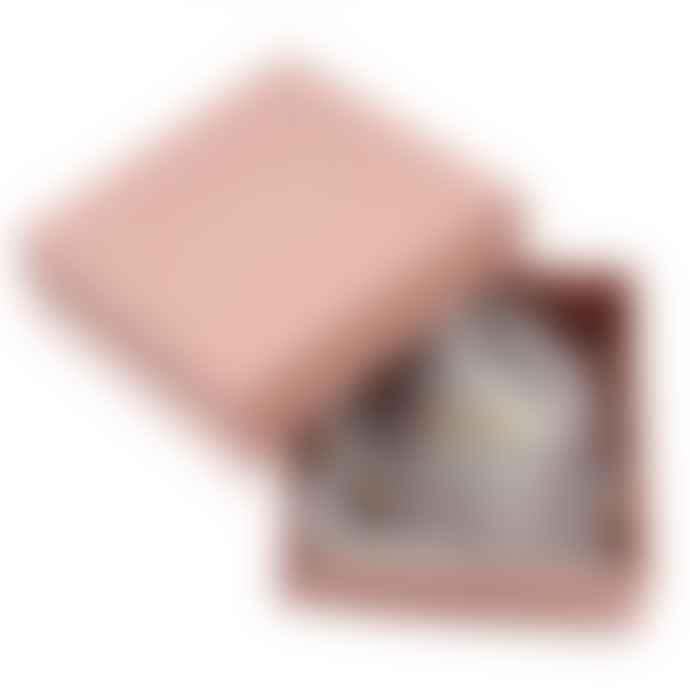 ChloBo Cute Mini Star Heart Bracelet Silver