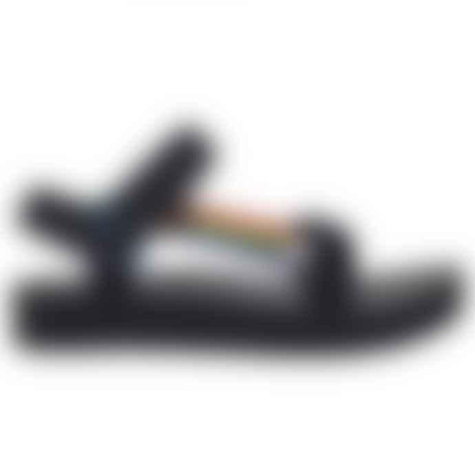 Teva Midform Universal Pride Black Rainbow Sandals Womens