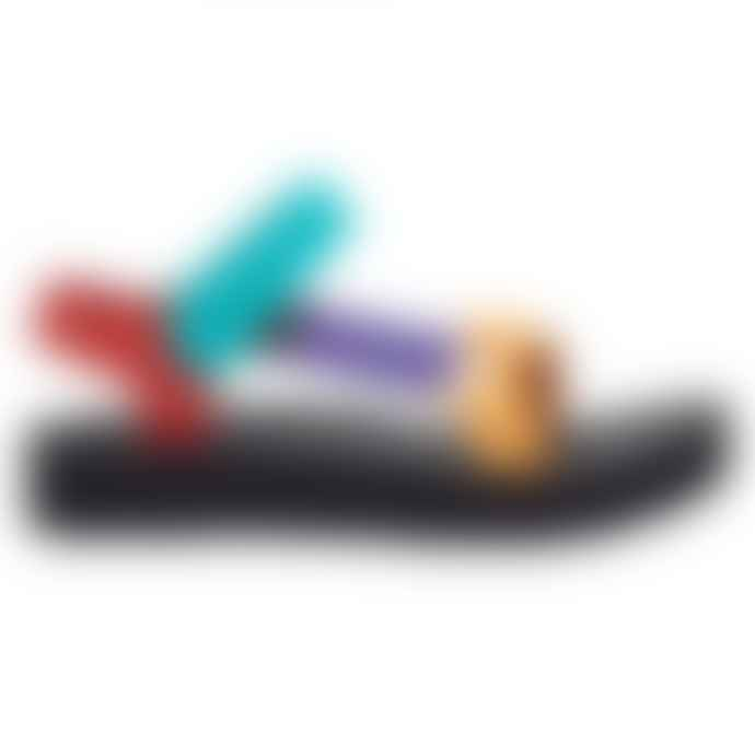 Teva Midform Universal Bright Retro Multi Sandals Womens