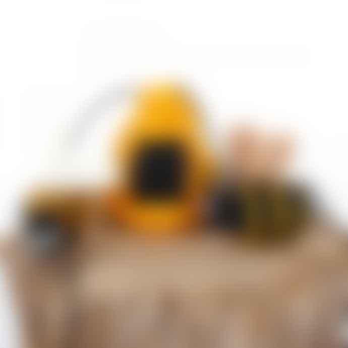 Sjaal met Verhaal Felt Bee Garland