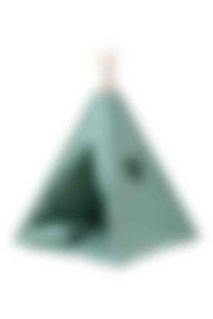 wigiwama Olive Green Teepee Set