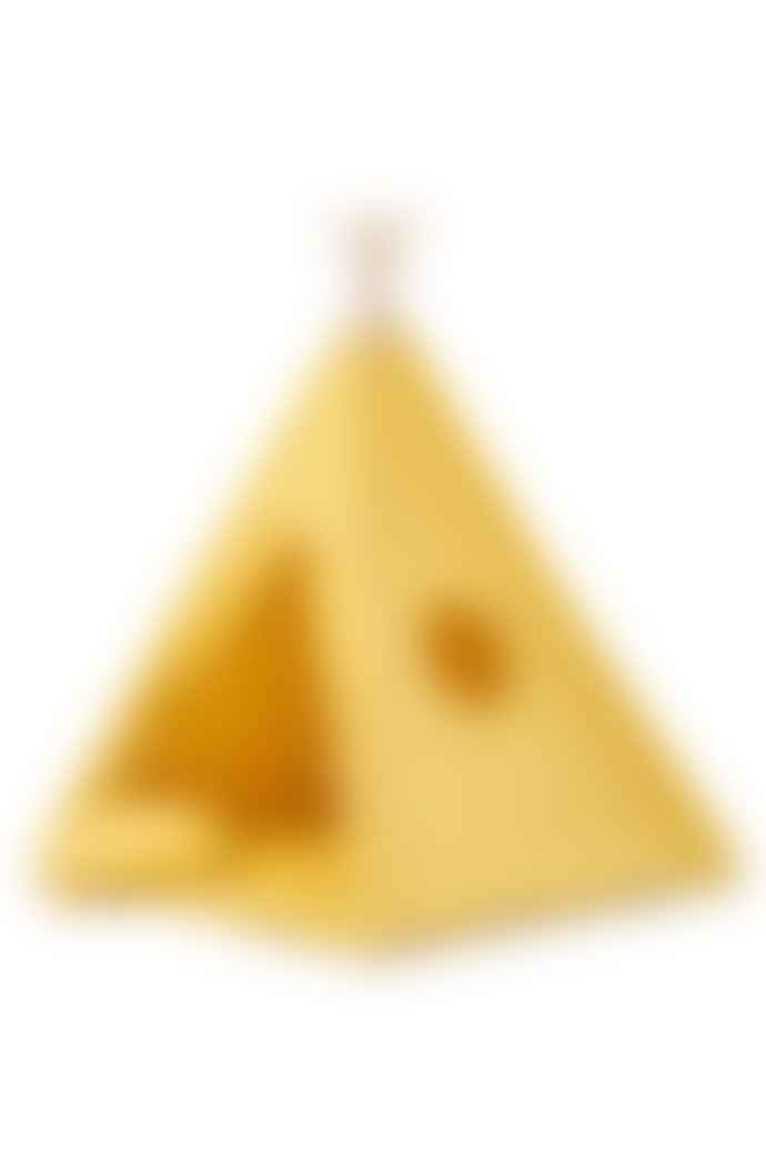 wigiwama Mustard Sunny Teepee Set