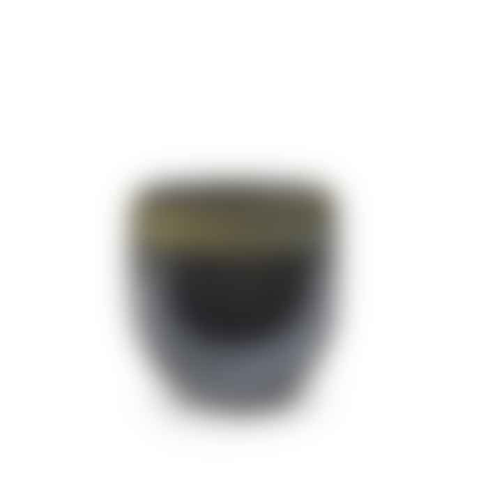 Serax Pot Eathenware Black Green