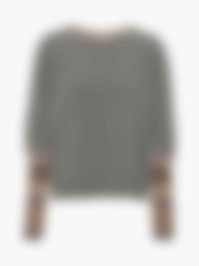 Project Aj117 Solange Puff Sleeve Jumper Grey