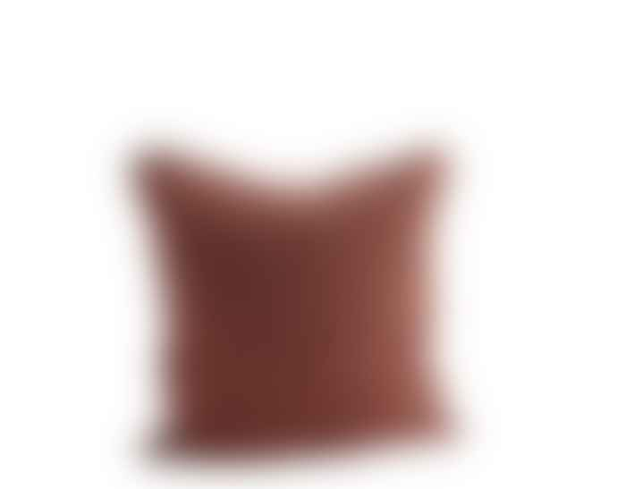 Madam Stoltz Colourful Checked Linen Cushions