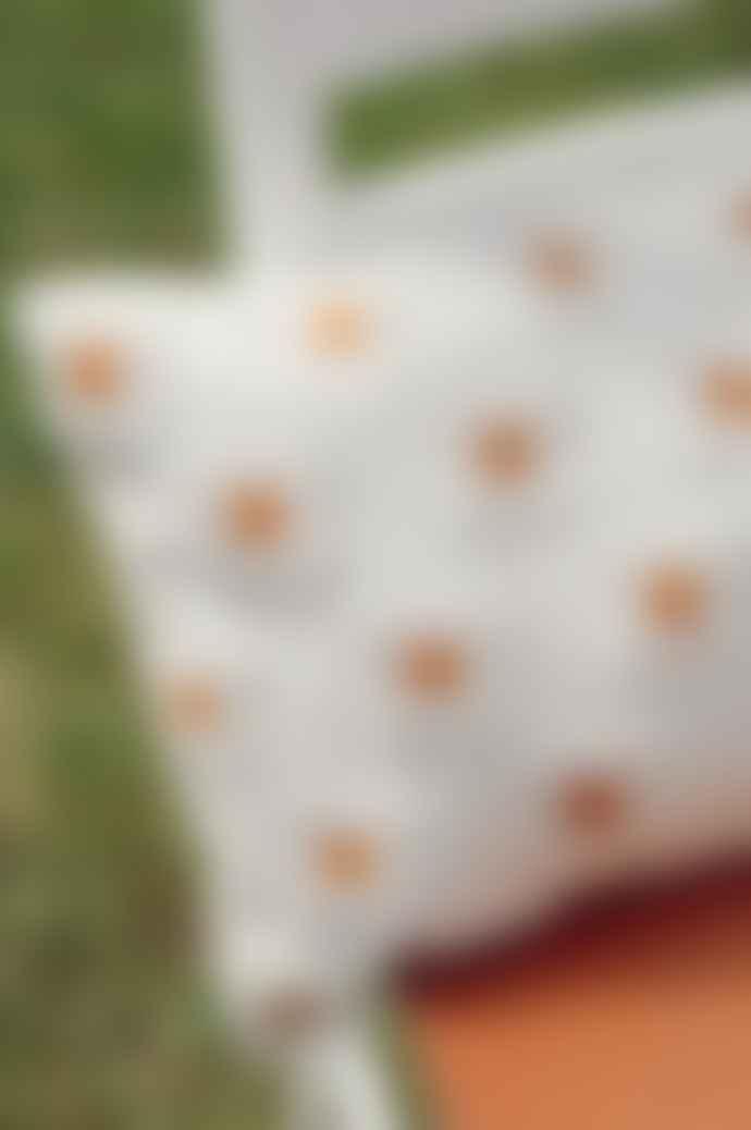 Ajouter Vita Tufted Daisy Flower Floral Cream Pillow Cushion Case