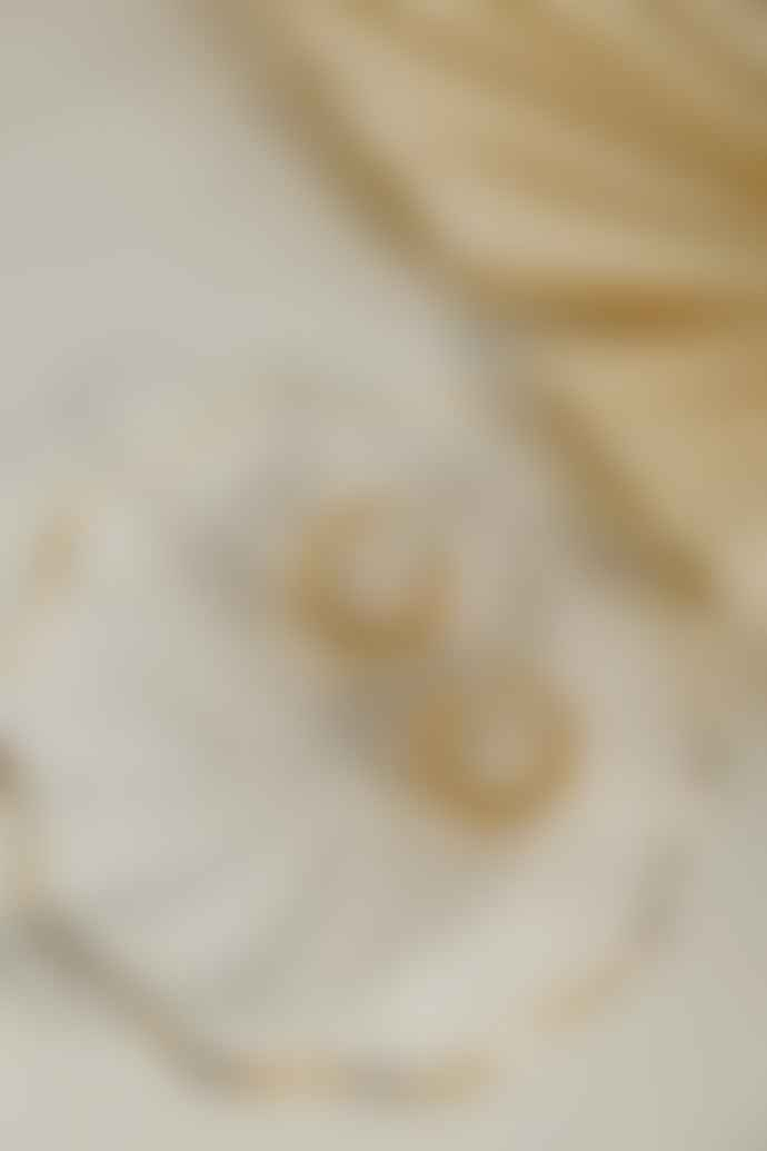 Ajouter Paloma 18 K Gold Vermeil Pendant Croissant Hoop Earrings