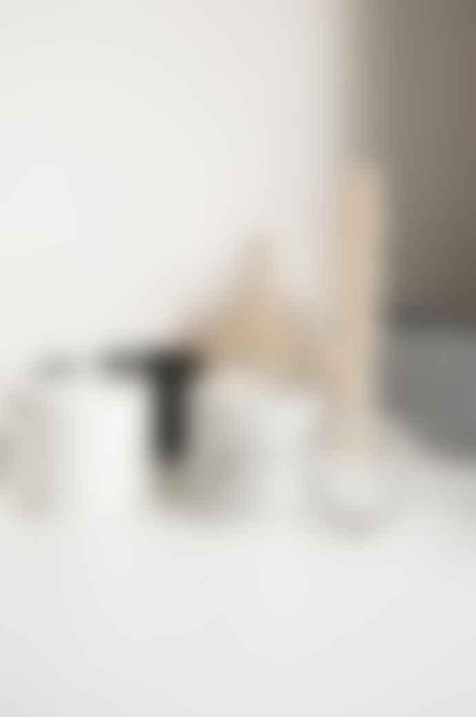 Ajouter Klaudia Black White Speckle Xl Round Handled Mug