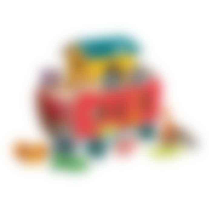 Tender Leaf Toys Noahs Shape Sorter Ark