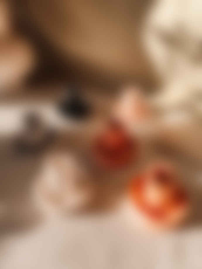 Ana Rose Studio Cinnamon Swirl Marble Candle Holder