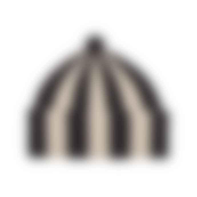 Jo Gordon Vertical Stripe Hat 100 Lambswool