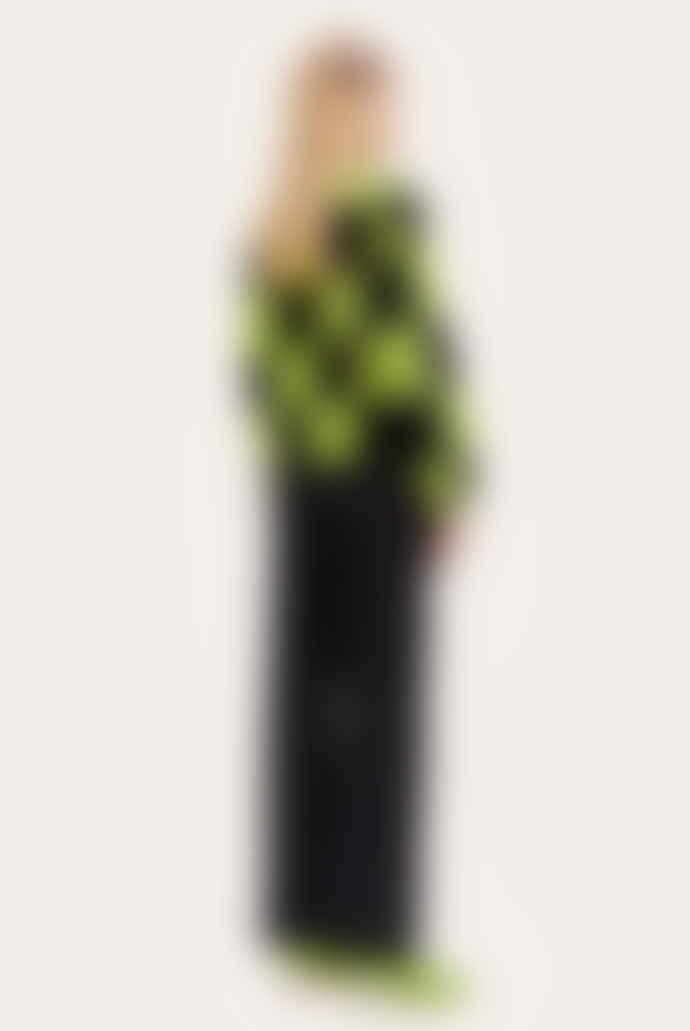 Stine Goya Harry Cardigan - Check Black