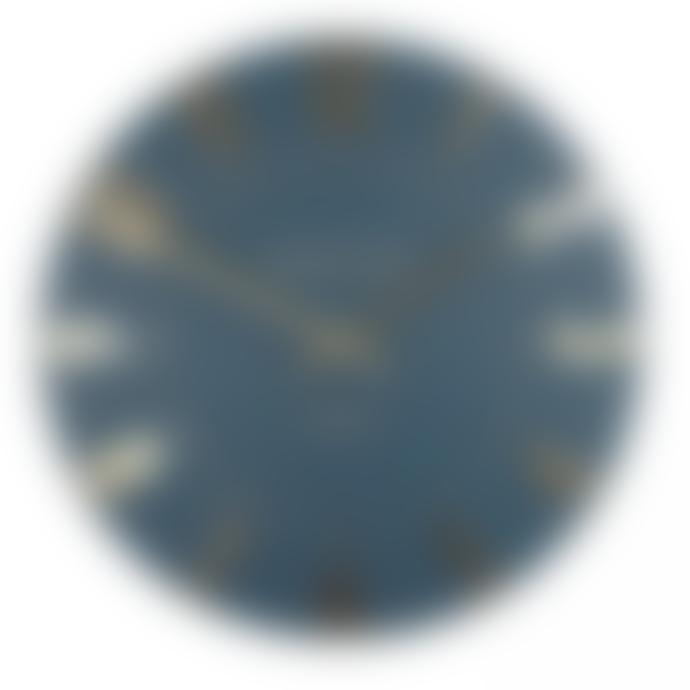 "Thomas Kent 12"" Mulberry Wall Clock Midnight Blue Clock"