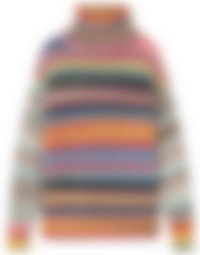 Sita Murt Multicolour Chunky Polo Knit