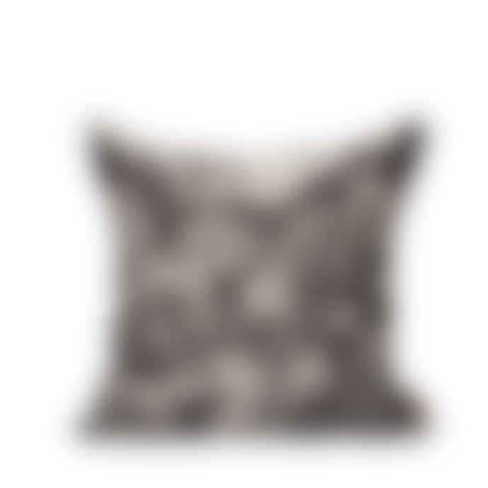 Littlephant 50 x 50cm Black Wild At Heart Cushion Cover