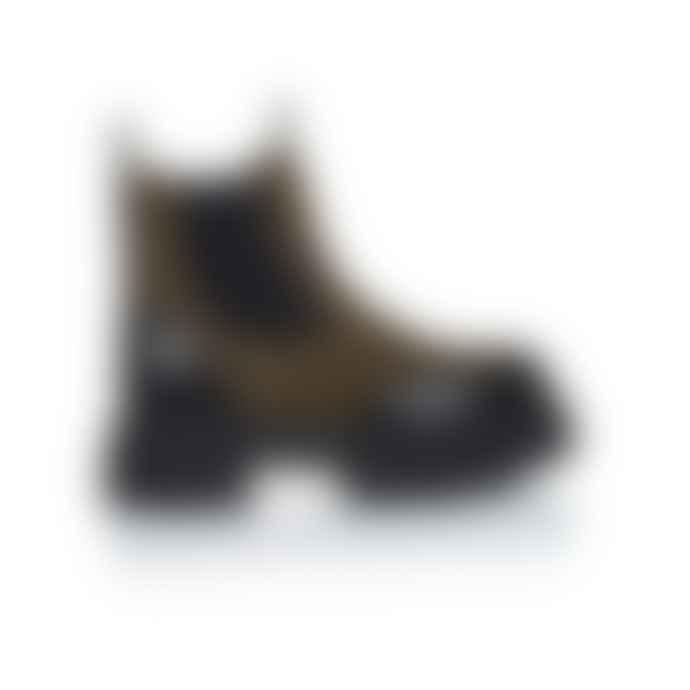 Shoe Biz Copenhagen Ulrika Boot Khaki