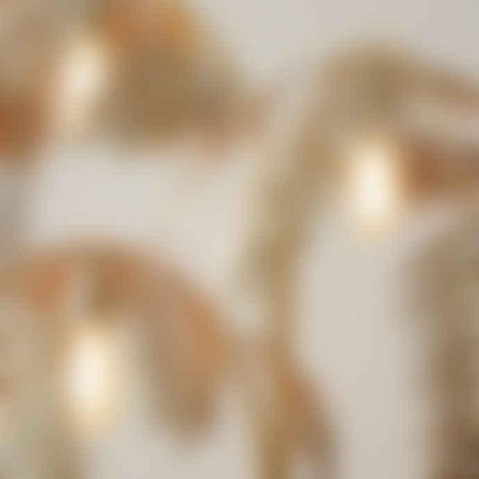 Sophie MacBain Antique Gold Palm Leaf Floor Lamp