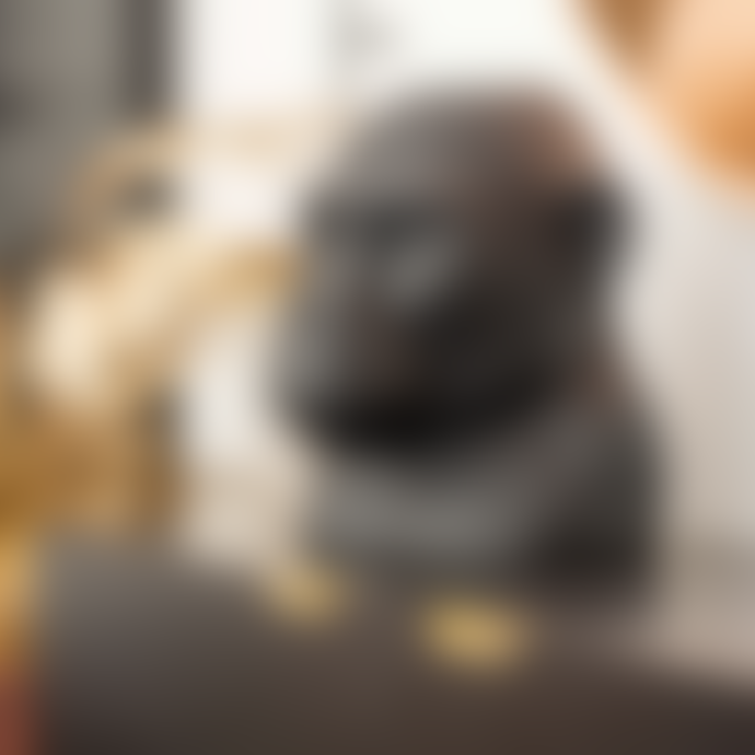 ByOn Gorilla Head Vase