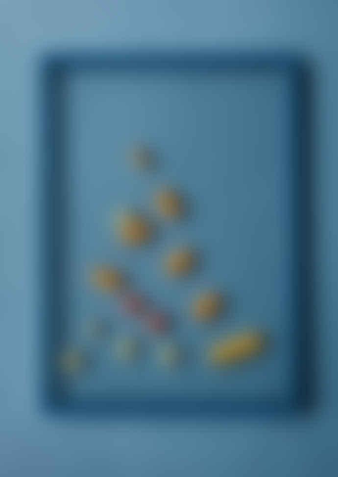 Moebe Cadre A4 Petrol Blue