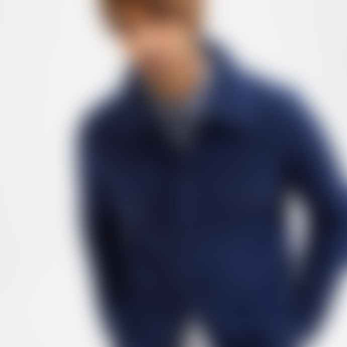 Selected Homme Wool Workwear Jacket Navy Blazer