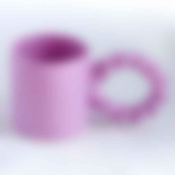 Studio Palu Ceramic Twisted Mug By Lilac
