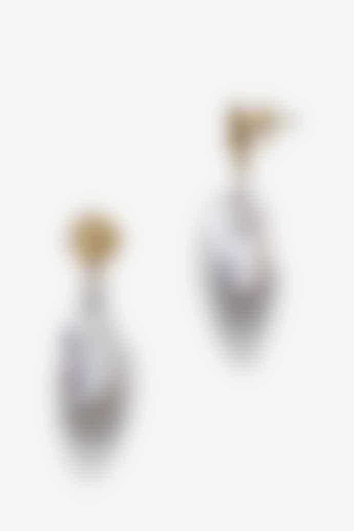 Anni Lu Jet Set Baroque Pearl Earrings