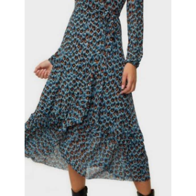 Natasja Frill Dress in 2021 | De jurk, Mouwen jurk, Jurk