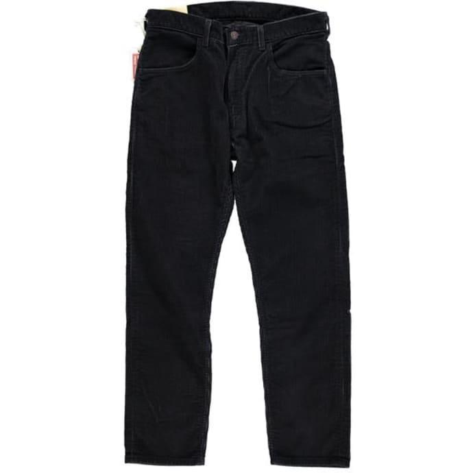 Trouva Levis Vintage Clothing 1970 S Pantalones De Pana 519 Para Hombre Caviar Black