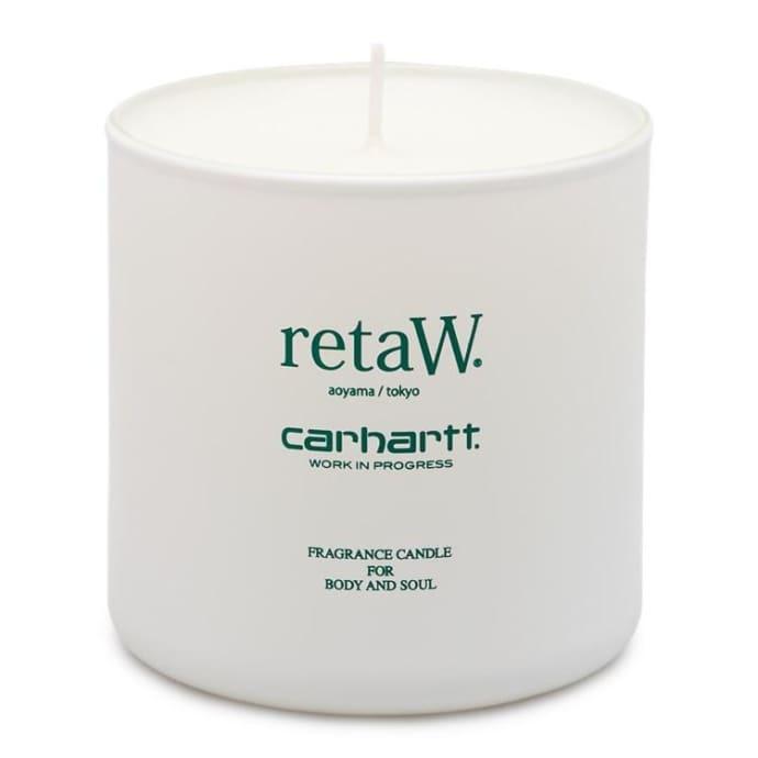 Carhartt WIP x retaw REVERSE Midas Parfum Cire de bougie en verre 145 g Vert bouteille