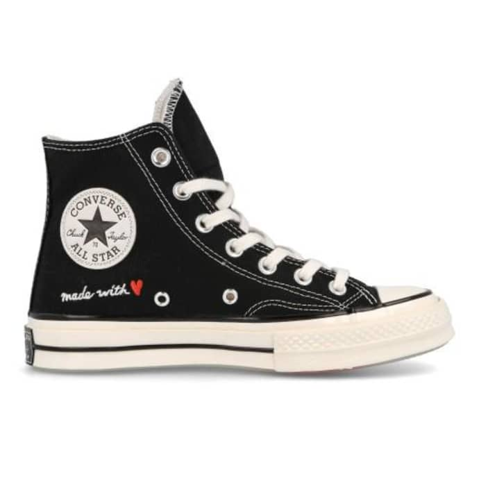 Converse Black Shoes For Women X San Valentines Day 171118 C